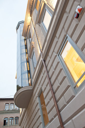 Edificio – Via Tevere, Roma