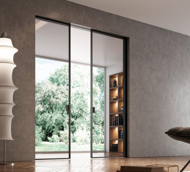 porta-scorrevole-filomuro-rasomuro-bertolotto-porte-italiane-in-vetro-glass-sliding-doors