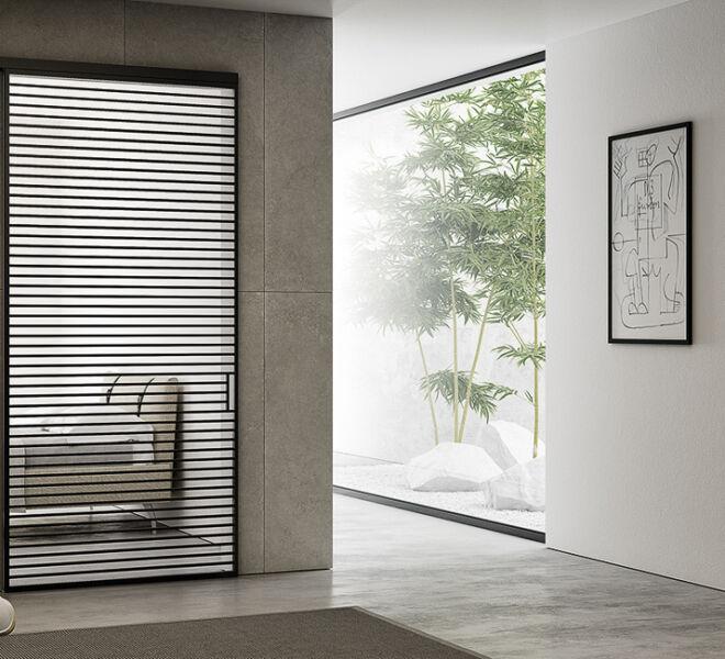 porte-scorrevoliesterno-muro-e-filomuro-ascomparsa-in-vetro-bertolotto-interiors-doors-sliding