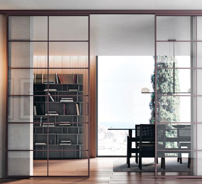 sliding-doors-bertolotto-porte-interne-glass-vetro-alluminio-binari-scorrevoli-sistemi-design